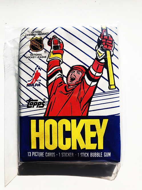 1989 Topps Hockey Wax Pack (Personal Pack Only)