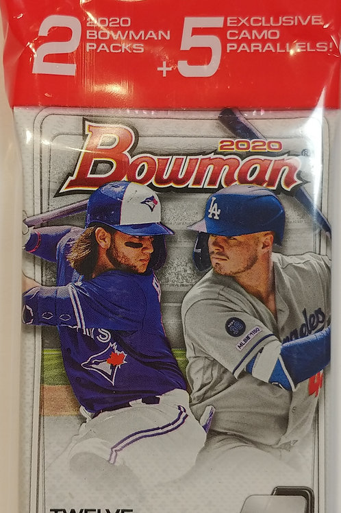 2020 Bowman Baseball Retail Cello (Personal Pack Only)