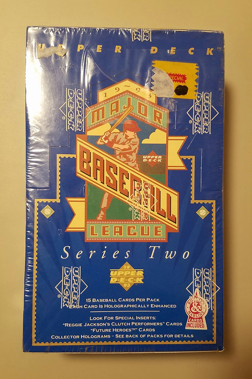 1993 Upper Deck BB Series 2 (Personal Pack Only)