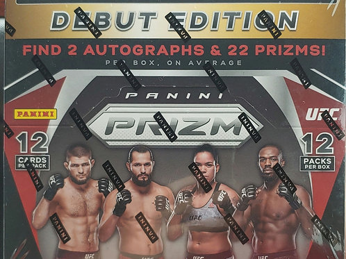 2021 Prizm UFC Hobby (Personal Pack Only)
