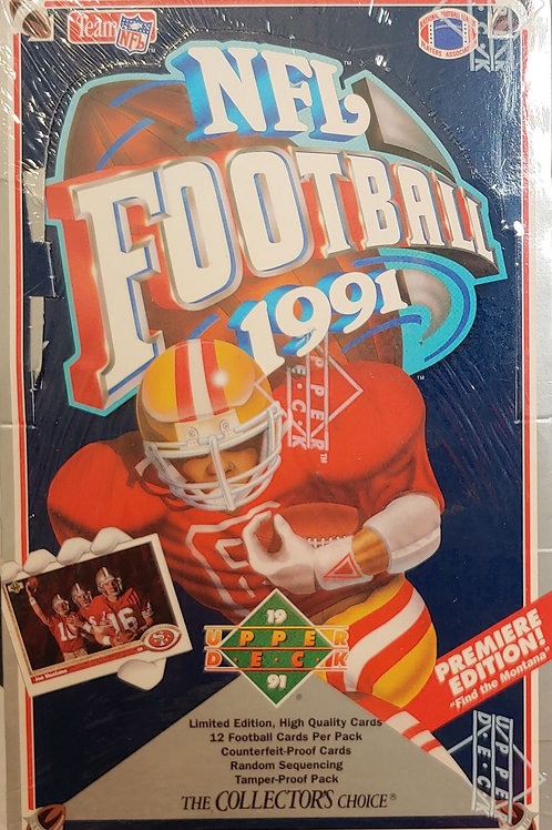 1991 Upper Deck Football (Personal Pack Only)