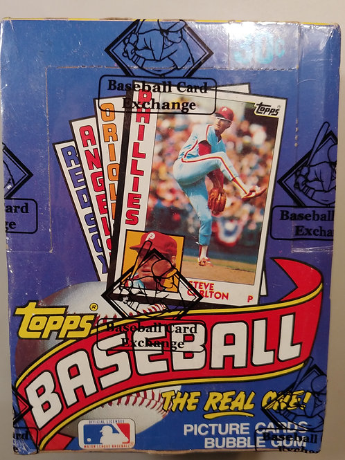 1984 Topps Baseball FASC Wax Pack (Personal Pack Only)