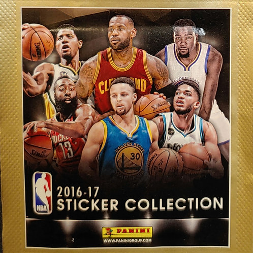 2016 NBA Sticker Collection (Personal Pack Only)