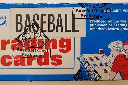 1975 Topps Baseball Series 1/2 ONLY Vending Box (Cards 1-264)