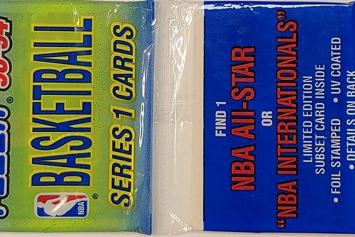1993 Fleer Basketball Series 1 Rack Pack (Personal Pack Only)