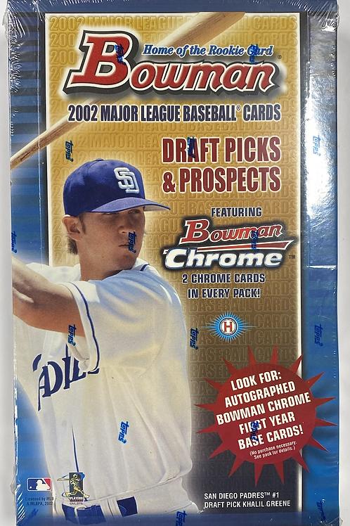 2002 Bowman Draft Hobby Baseball (Personal Pack Only)