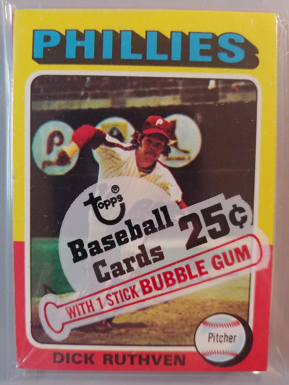 1975 Topps Baseball Cello Pack 18 Spot Random Card Group Break