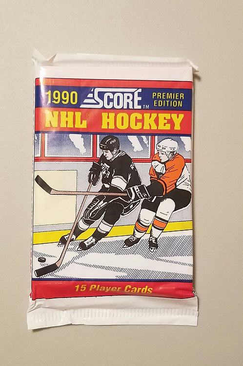 1990 Score Hockey (Personal Pack Only) Price Listed is for 5 Packs!!