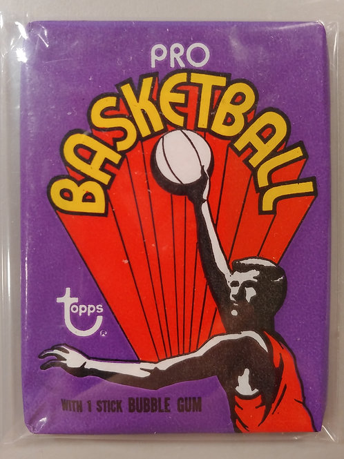 1972 Topps Basketball Wax Pack  (Personal Pack Only)