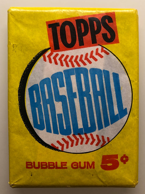 1960 Topps Baseball Wax Pack (Personal Pack Only)