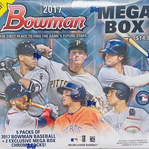2017 Bowman Baseball Mega Box: 30 Spot Random Team Group Break