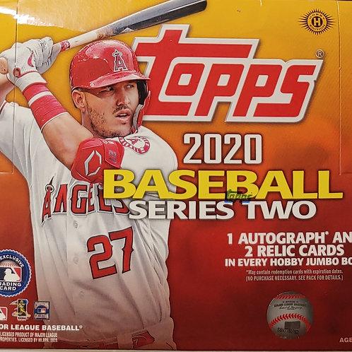 2020 Topps Series 2 Baseball Jumbo (Personal Pack Only)