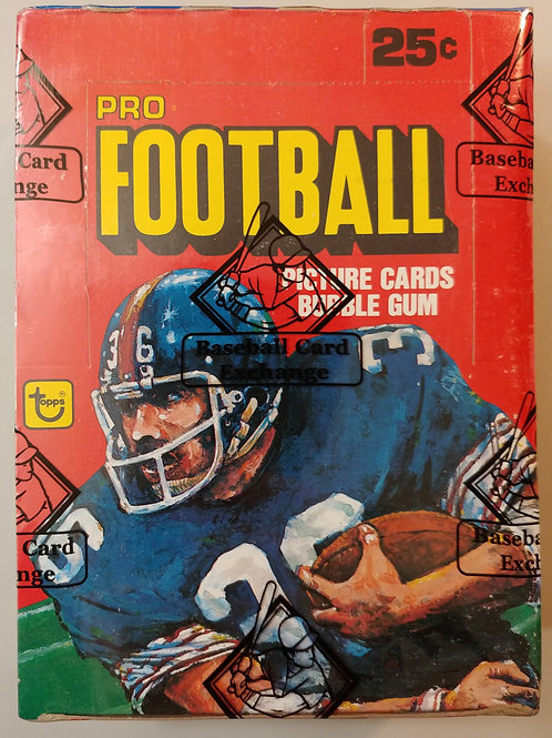 1980 Topps Football Wax Pack  (Personal Pack Only)