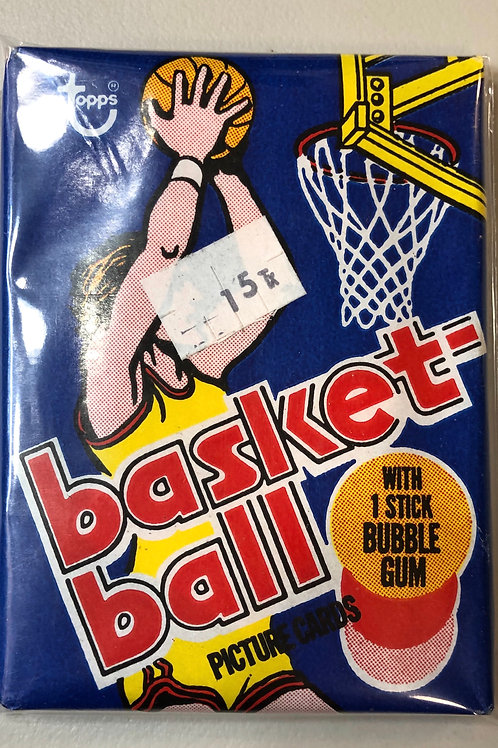 1977 Topps Basketball Wax Pack (Personal Pack Only)