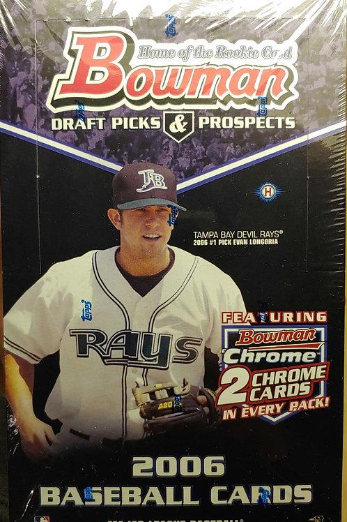 2006 Bowman Draft Hobby Baseball (Personal Pack Only)