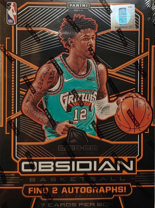 2019 Obsidian Basketball 7 Spot 1 Box Random Card Group Break