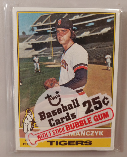 1976 Topps Baseball Cello Pack Personal Pack Only Stargell On Back