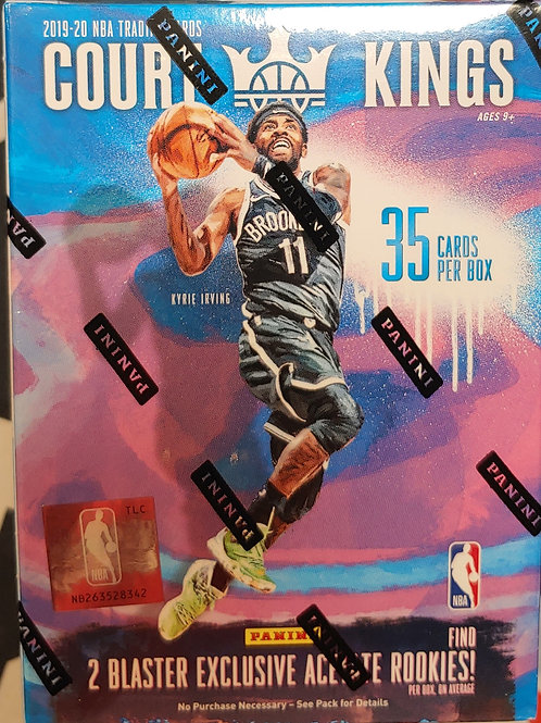 2019 Court Kings Basketball Int'l Blaster Pack (Personal Pack Only)