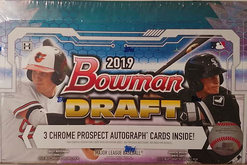 2019 Bowman Draft Baseball (Personal Pack Only)