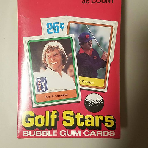 1981 Donruss Golf Wax Pack (Personal Pack Only)