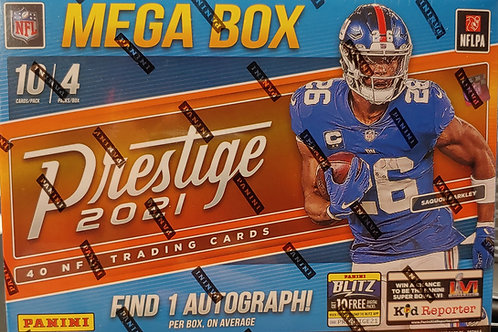 2021 Prestige Football Mega Box Pack (Personal Pack Only)