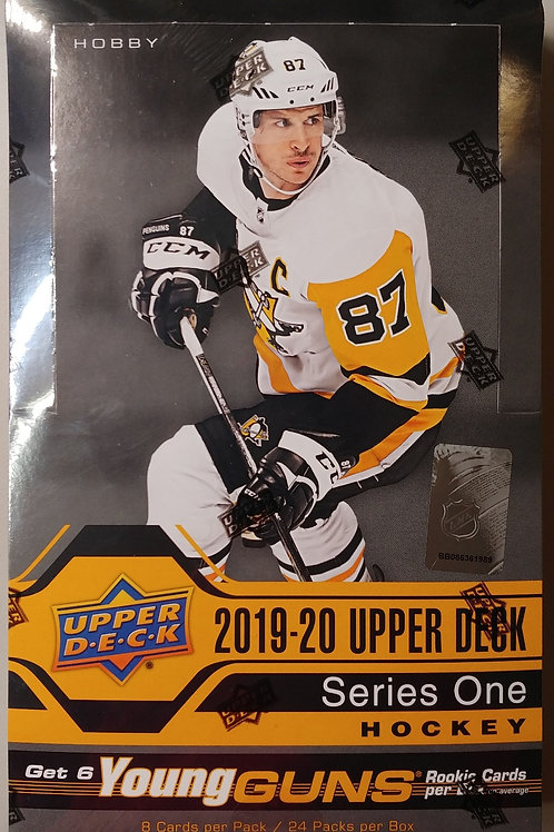 2019 Upper Deck Series 1 Hobby Hockey (Personal Pack Only)
