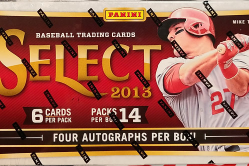 2013 Select Baseball (Personal Pack Only)