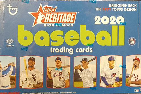2020 Topps Heritage High Number (Personal Pack Only)