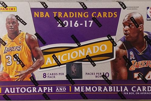 2016 Aficianado Basketball (Full Box Price)