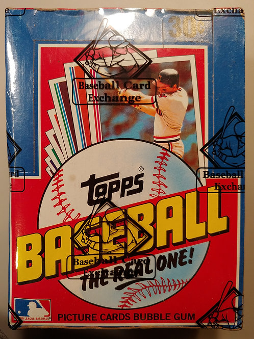 1982 Topps Baseball Wax Pack (Personal Pack Only)