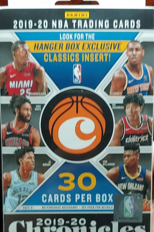 2019 Chronicles Basketball Hanger Box (Full Box Rip)