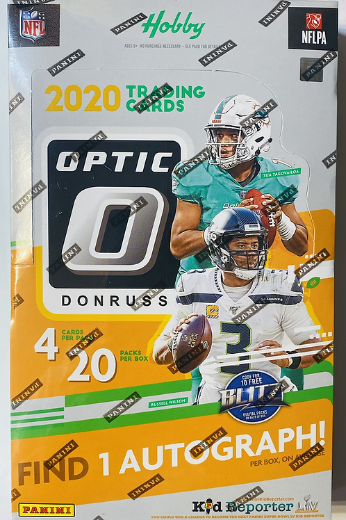 2020 Optic Hobby Football (Personal Pack Only)