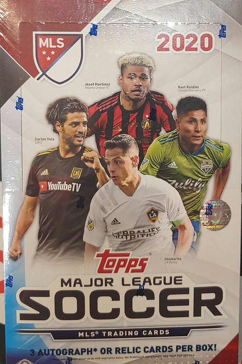 2020 Topps MLS Soccer (Personal Pack Only)