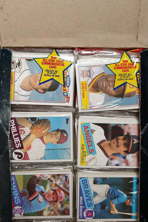 1985 Topps Baseball Rack Pack (Personal Pack Only)