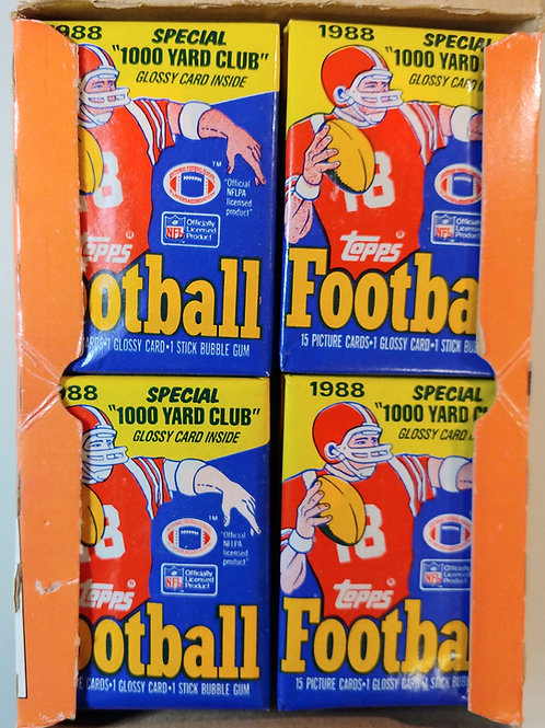 1988 Topps Football Wax Pack (Personal Pack Only)