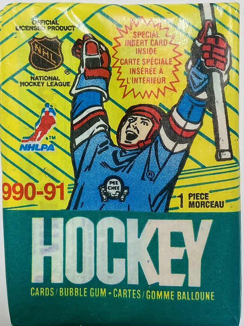 1990 O Pee Chee Hockey (Personal Pack Only)
