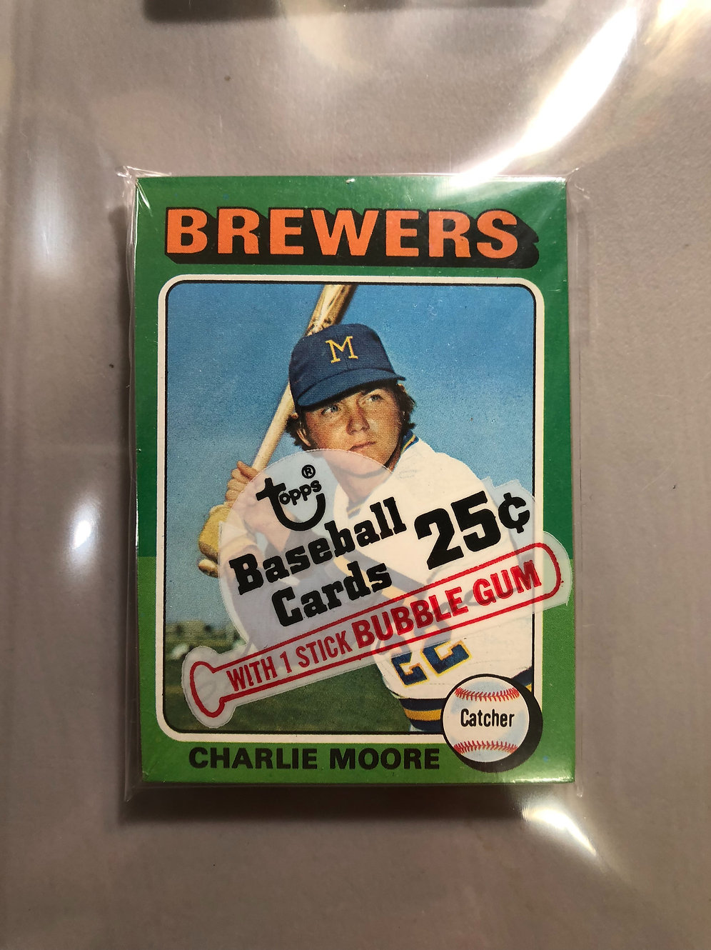 1975 Topps Baseball Cello Pack Personal Pack Only