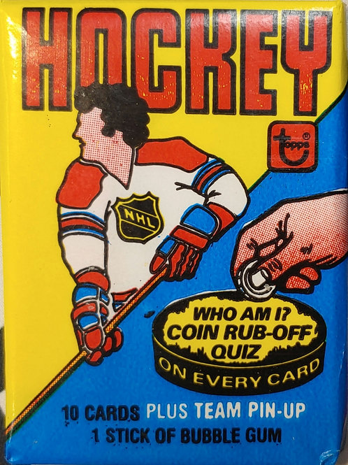 1980 Topps Hockey Wax Pack: 10 Spot Random Card Group Break