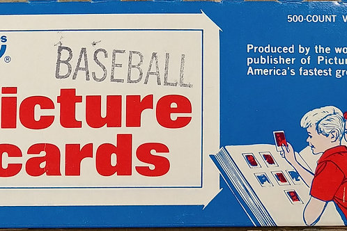 1986 Topps Baseball 500 CT Unopened Vending Box (Full Box Rip)