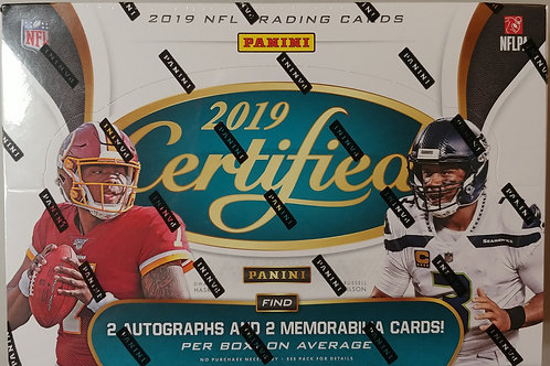 2019 Certified Football FOTL Box (Personal Box Only)