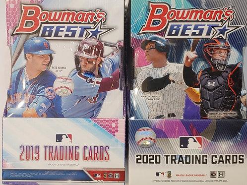 2019-2020 Bowmans Best Baseball: 4 Box/6 Spot Random Division Mixer Group Break
