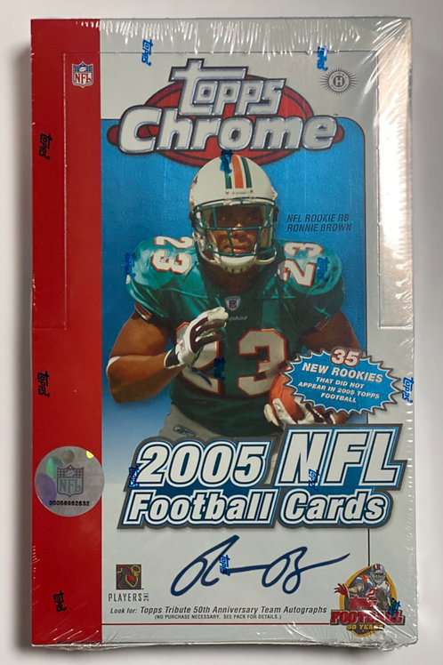 2005 Topps Chrome Hobby Football (Personal Pack Only)