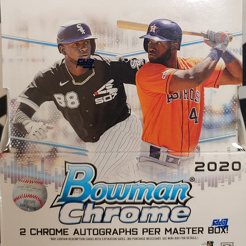 2020 Bowman Chrome Baseball Mini Box (Personal Pack Only)