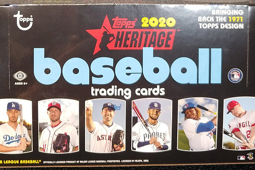 2020 Topps Heritage Baseball (Personal Pack Only)