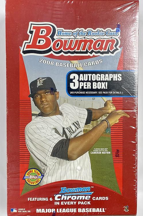 2008 Bowman Hobby Jumbo Baseball (Personal Pack Only)