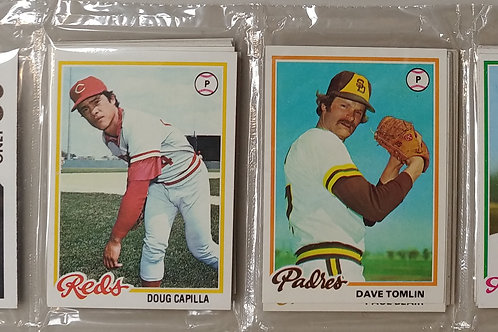 1978 Topps Baseball Rack Pack (Personal Pack Only)