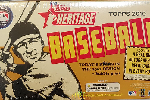 2010 Topps Heritage Baseball (Personal Pack Only)