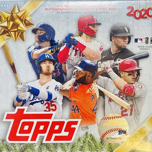 2020 Topps Holiday Baseball (Full Box Rip)