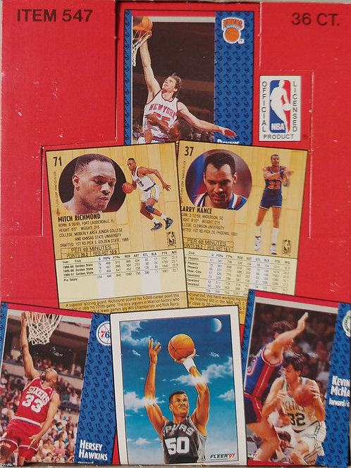 1991 Fleer Basketball Wax Pack (Personal Pack Only)