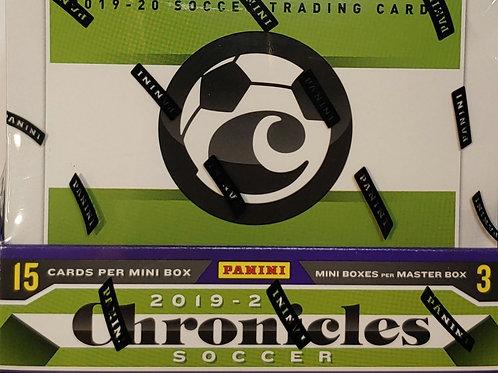 2019-20 Chronicles Soccer 45 Spot Random Card 1 Box Group Break